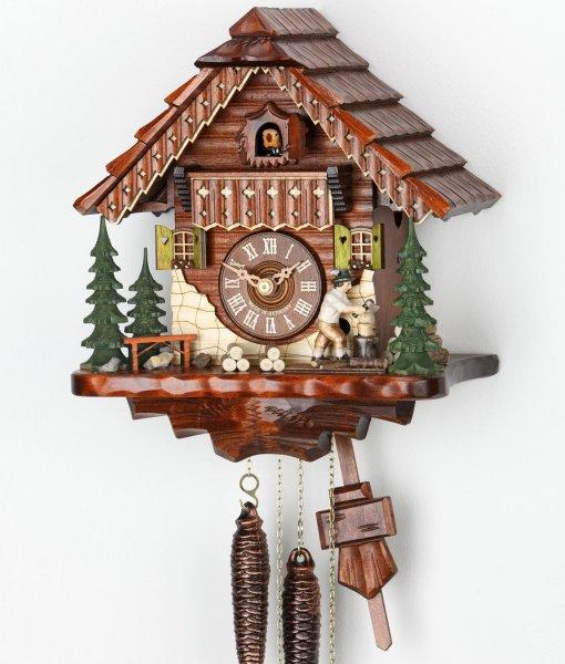 Kuckucksuhr Forsthaus - Original Schwarzwald Uhr