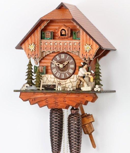 Haus Talblick: Kuckucksuhr Haus Silberdistel